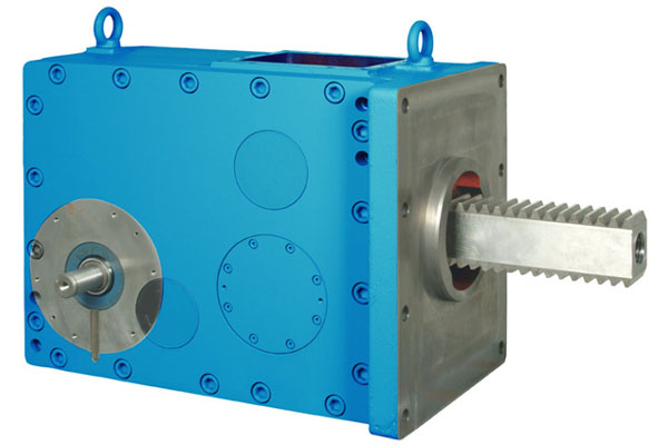 POSIRACK injection moulding drive