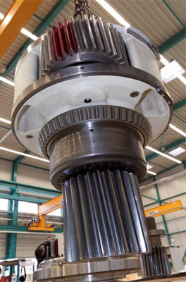 Large Industrial Gears by Brevini Motion Systems