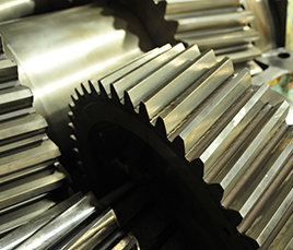 Helical gearing