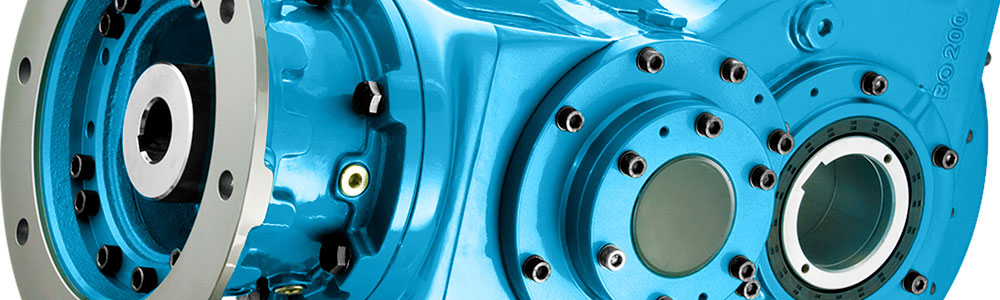 Shaft Mounted Gearbox by Brevini, Dana SAC UK